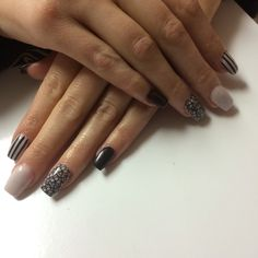 Hand sculpted full acrylic nails done by Trendz By Tara