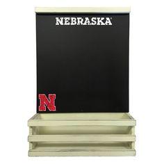 Nebraska Cornhuskers Hanging Chalkboard, Multicolor