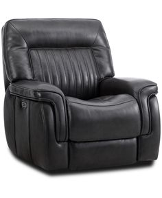 Pipe Decor, Glider Recliner, Relaxing Day, Footrest, Reclining Sofa, Gliders, Sofa Chair, Smooth Leather, Charcoal