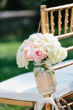 Rustic Wedding Ideas - Mason Jar Decorations