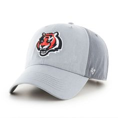 Adult '47 Brand Cincinnati Bengals Storm Northside Clean Up Adjustable Cap, Ovrfl Oth