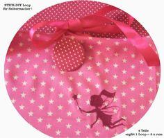 STICK♥Loop♥ DIY Sterne/dots PINK  Elfe  von ஐღKreawusel-aufgehübschtஐღ  auf DaWanda.com