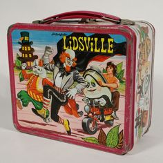 Antique Lunchboxes   Sid & Marty Kroft's Lidsville Lunch Box