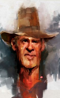 Harrison Ford Caricature...?:)