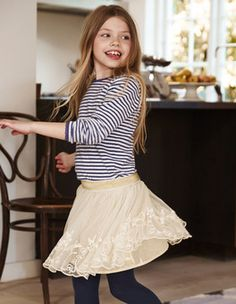 Shop our Cute, Authentic British Style Girls Skirts from Mini Boden USA | Boden
