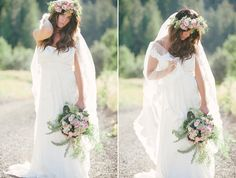 Bohemian inspiration on Utah Bride Blog ! Gorgeous flowers by Blossom Sweet and photography by Jessica White