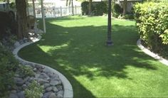 With artificial turf, you can save money on water and maintenance.