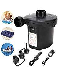 Lebexy Elektrische Luftpumpe Fur Luftmatratze Pumpe Luftmatratze