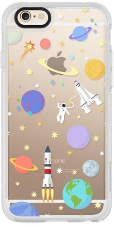 Casetify iPhone 6 New Standard Case - Space rocket for classic snap case by Marta Olga Klara #Casetify