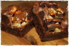 Rockslide Brownie Brownies, Deserts, Snacks, Cake, Recipes, Baking Ideas, Food, Recipies, Tapas Food