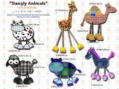 Dangly Animals - emioli