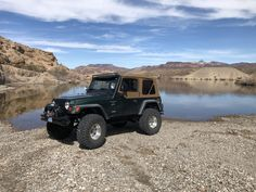 Colorado River just outside of Nelson Jeep Tj, Jeep Wrangler Tj, Jeep Truck, Custom Jeep, Colorado River, Atv, Offroad, Classic Cars, Monster Trucks