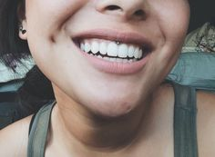 my smiley piercing!