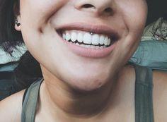 my smiley piercing!