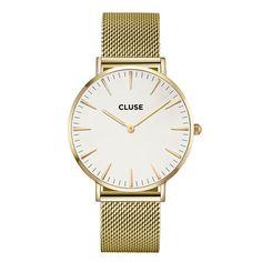 CLUSE La Bohème Mesh Gold/White CL18109