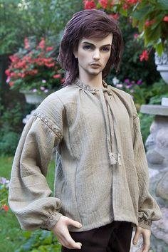 Пошив рубашки для куклы