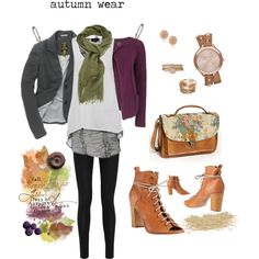 Autumn Wear - Fall Fashion