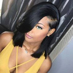 Cute bob hairstyles wigs for black women lace front wigs human hair wigs african american wigs Cute bob hairstyles wigs for black women lace front wigs human hair wigs african american wigs <br> Cute Bob Hairstyles, Sew In Hairstyles, My Hairstyle, Straight Hairstyles, Black Hair Bob Hairstyles, Hairstyles 2018, Unique Hairstyles, African Hairstyles, Vintage Bob