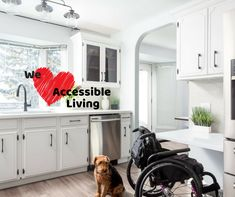 WE 💗ACCESSIBLE LIVING! We wouldn't be the company we are without the help of wonderful partners like Accessible Homes Inc. Bathroom Renovations, Bathrooms, Home Inc, Custom Cabinets, Cabinet Design, The Help, Kitchen Cabinets, Homes, Home Decor