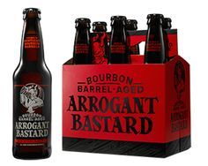 I want to get a bottle or 6-pack of Arrogant Bastard for my brother-in-law simply because of the name. | Stone Brewing Arrogant Bastard 22oz. Bottle | $3.99 on Fine Wine House