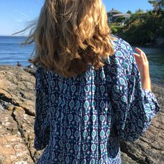 Breezy ROXY boho dress. Bell sleeves, tassels, light cotton fabric. Size Large & generous cut. Wonderful as a warm-weather dress or beach cover up. Brand new - tags still attached. $65.00 US. DM with questions or to purchase.  #Regram via @labellebohemian&hl=en