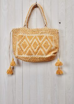 Tenerife Tote by Love Stitch...love this for a beach bag!!