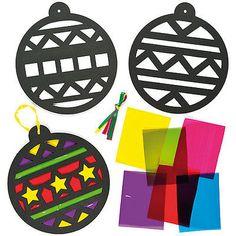 Decorations-Boules-de-Noel-pour-sapin-effet-vitrail-pour-enfants-Lot-de-6