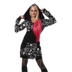 Ouija Hoody - Vixxsin, £39.99 i love this #WIN#WIN outfit here!