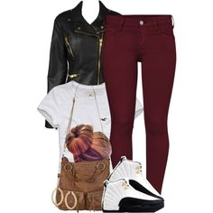 A fashion look from December 2013 featuring Hollister Co. t-shirts, Forever 21 jackets and French Connection jeans. Browse and shop related looks.