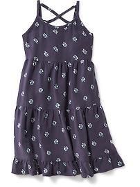 Tierred Swing Cami Dress
