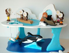 POLAR PLAYSET tutorial and patterns!