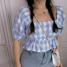 Crop Top Outfits, Cute Casual Outfits, Pretty Outfits, Estilo Fashion, Ideias Fashion, Teen Fashion Outfits, Trendy Fashion, Mode Pastel, None