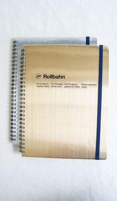Rollbahn Metallic Notebooks