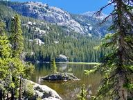 Hike Grand Lake, Colorado at the west entrance to Rocky Mountain National Park