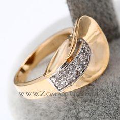 Edentina gyűrű - Zomax Gold divatékszer www. Druzy Ring, Wedding Rings, Engagement Rings, Gold, Jewelry, Enagement Rings, Jewlery, Jewerly, Schmuck