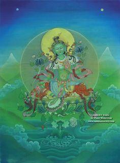 Buddha Painting in the Sanatan Society Indian Art galleries Buddha Kunst, Buddha Art, Indian Art Gallery, Sacred Feminine, Divine Feminine, Mother Art, Star Show, Gods And Goddesses, Deities
