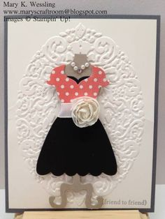 All Dressed Up by craftymomto2 - Cards and Paper Crafts at Splitcoaststampers