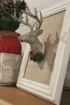 Learn how to make 3 fun and easy DIYs to create Farmhouse Christmas Decor with Dollar Tree supplies.
