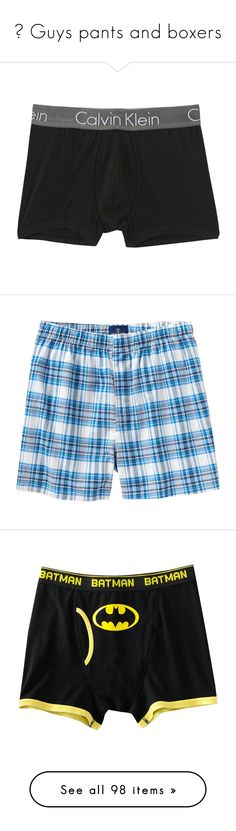 """""""♆ Guys pants and boxers"""" by xxinfinity-anonsxx ❤ liked on Polyvore featuring men's fashion, men's clothing, men's underwear, boxers, underwear, boys, navy, men, lingerie and intimates"""
