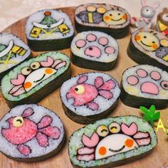 Sushi Sushi, Sushi Art, Sushi Ideas, Cute Food, Japanese Food, Food Art, Lunch Box, Culture, Desserts