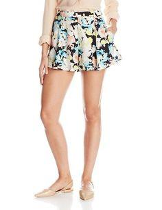 Parker Women's Howl Silk Shorts - Relaxed Shorts http://trendtags.net #fashion #summer2015