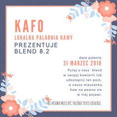 ... bo #kawa musi być palona tylko lokalnie.      #KAFO data palenia: 31 marzec 2018 (blend 8.2)