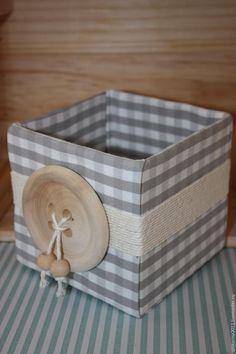 Мастерим уютную коробочку для домашних нужностей и ненужностей - Ярмарка Мастеров - ручная работа, handmade