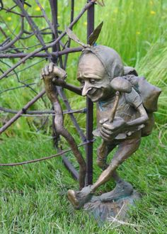 #Bronze Garden Or Yard / Outside and Outdoor #artwork by #sculptor Victoria…