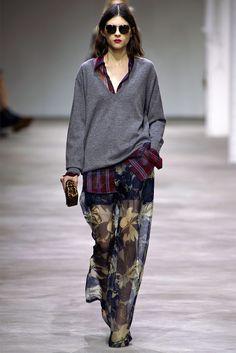 Sobreposição + mix de estampas = mendigo fashion // Dries Van Noten