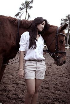 Photo with horse