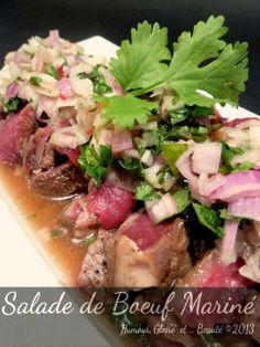 Potato Salad, Potatoes, Ethnic Recipes, Food, Table, Marinated Beef, Lime Juice, Lemon Grass, Cilantro