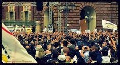 Torino Inte(G)razione: Migliaia di persone a Torino per Beppe Grillo