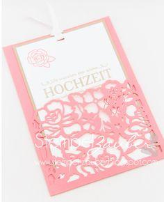 ***Stempel-Zauber***: Hochzeitskarte