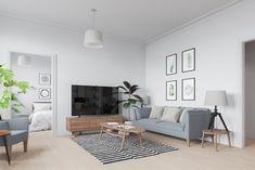 Scandinavian interior in Warsaw, Poland (ver.6) - Галерея 3ddd.ru